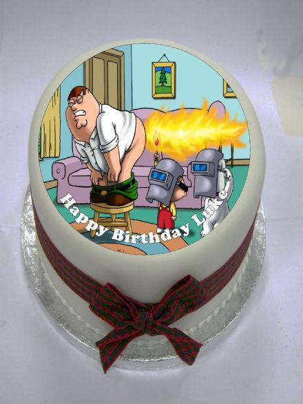 Family Guy Edible Cake Topper